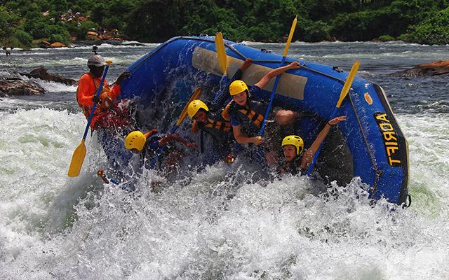 white-water rafting - 1 day Jinja tour