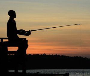 Fishing on 4 days Ssese Island honeymoon safari