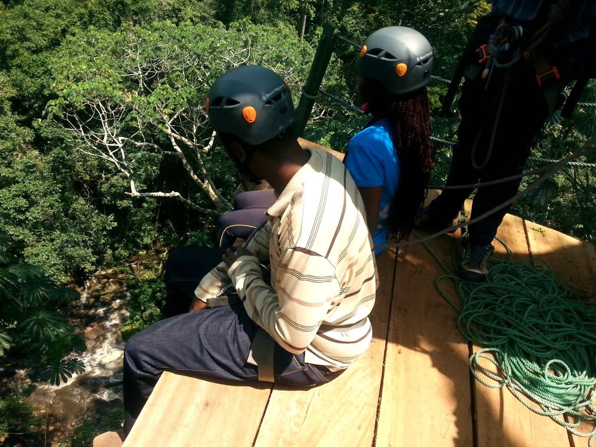Mabira Forest Zip Lining on a 5 Days Uganda Safari (Mabamba, Jinja and Murchison Falls)